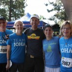 Team Joha readies for the run